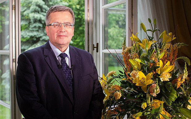 Prezydent Bronisław Komorowski /Piotr Molecki/www.prezydent.pl /