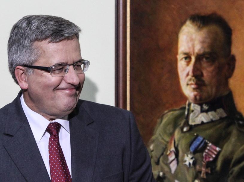 Prezydent Bronisław Komorowski /Jakub Kamiński   /PAP
