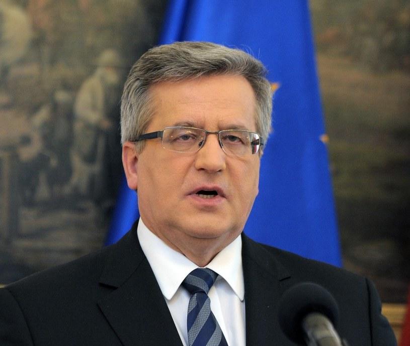 Prezydent Bronisław Komorowski /Jan Bielecki /East News