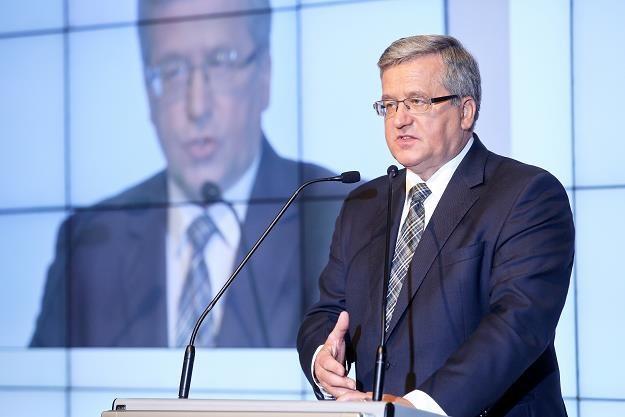 Prezydent Bronisław Komorowski /PAP