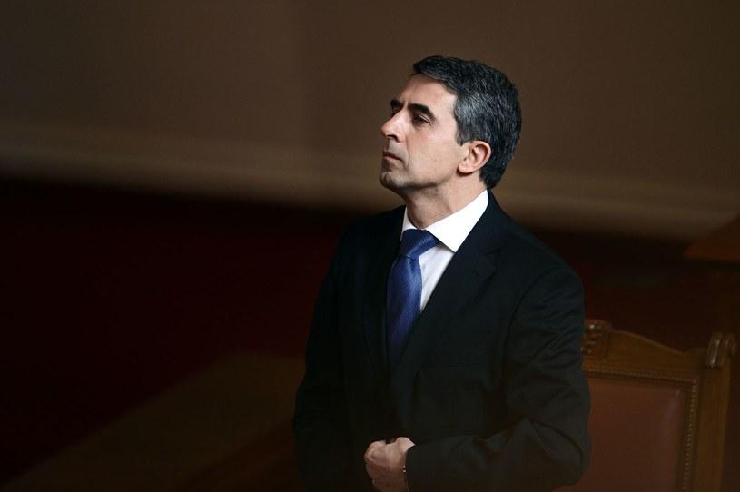 Prezydent Bułgarii Rosen Plewnelijew /DIMITAR DILKOFF /AFP
