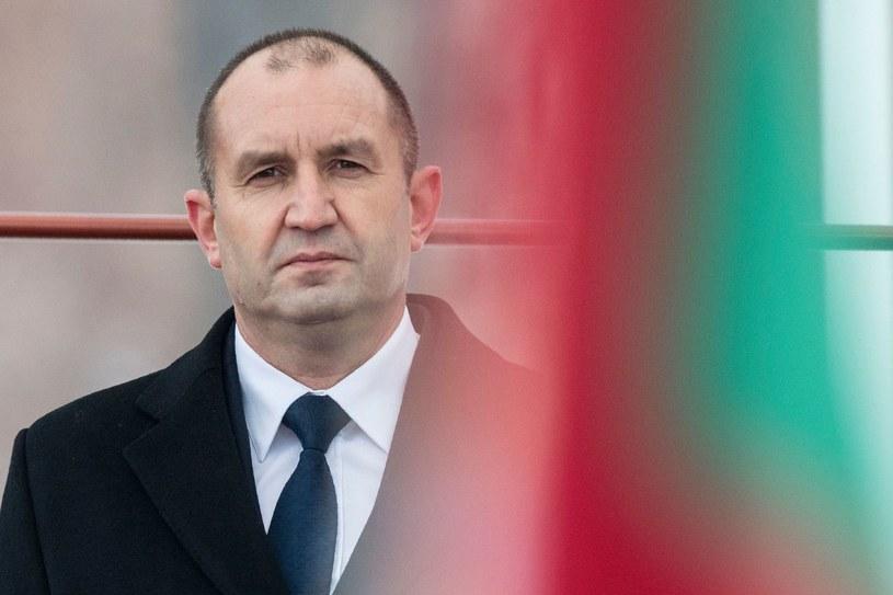 Prezydent Bułgarii Rumen Radew /AFP