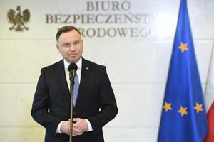 Prezydent chce pilnego zwołania posiedzenia Sejmu