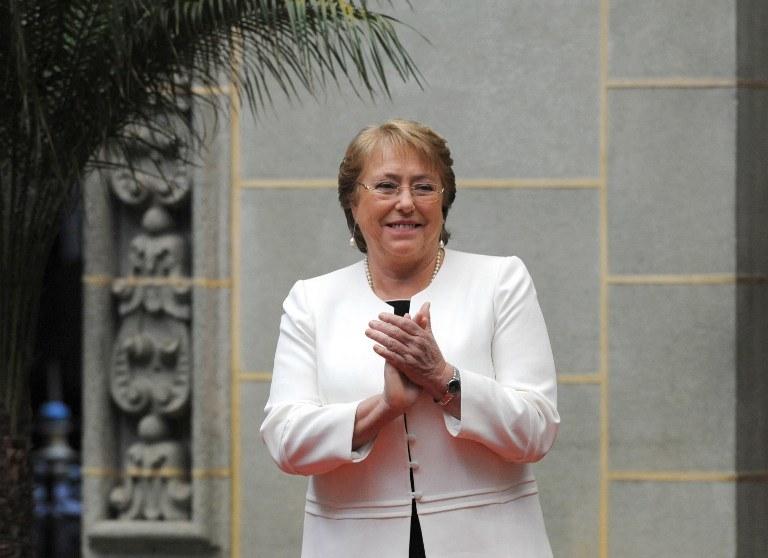 Prezydent Chile Michelle Bachelet, zdj. ilustracyjne /Johan ORDONEZ /AFP