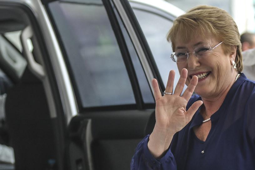 Prezydent Chile Michelle Bachelet /Joaquin Sarmiento /AFP