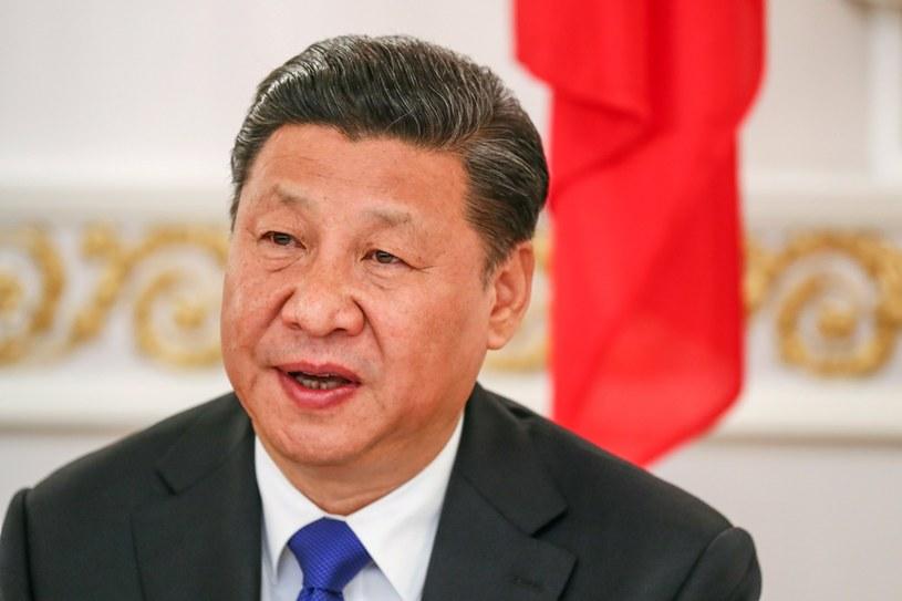 Prezydent Chin Xi Jinping /PAP/EPA