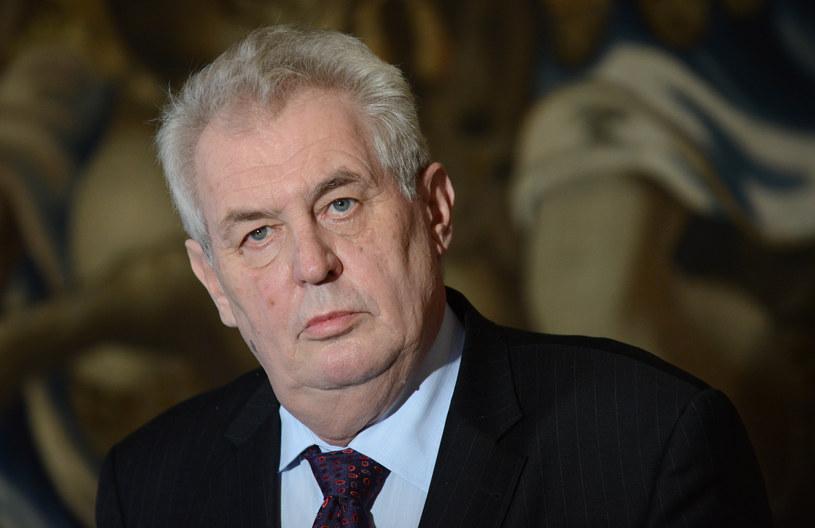 Prezydent Czech nie pojedzie do Moskwy /AFP