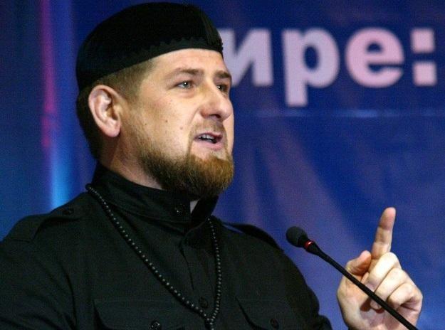 Prezydent Czeczenii Ramzan Kadyrow /AFP