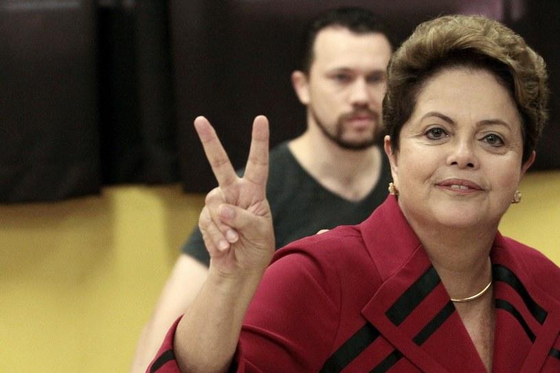 Prezydent Dilma Rousseff /PAP/EPA