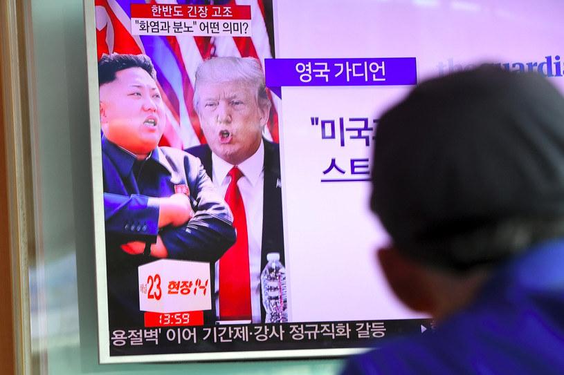 Prezydent Donald Trump wydał we wtorek ostrzeżenie dla Korei Północnej /AFP