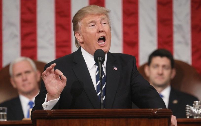 Prezydent Donald Trump /PAP/EPA