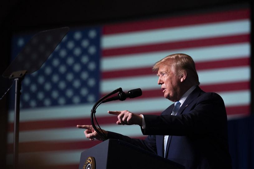 Prezydent Donald Trump /Jim Watson / AFP  /AFP