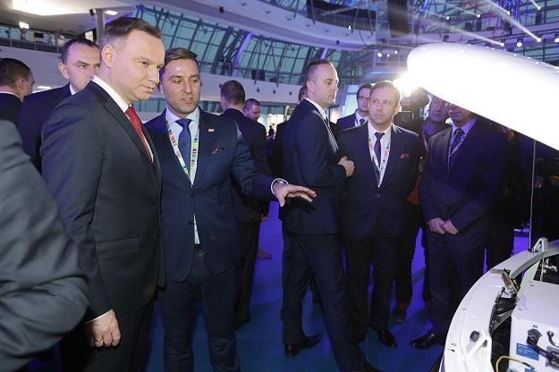 Prezydent Duda elektromobilny! /Informacja prasowa