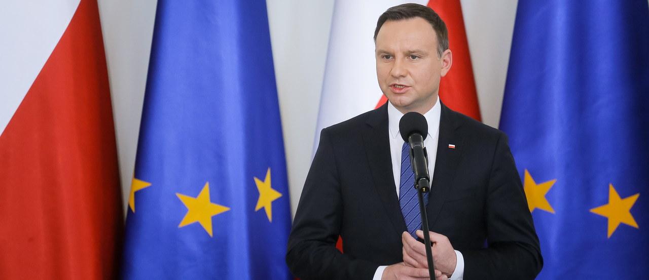 Prezydent Duda: Nie ma sygnałów, żebyśmy w Polsce mieli zagrożenie