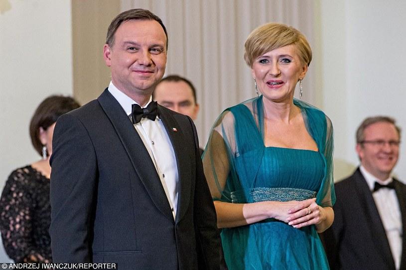 Prezydent Duda z małżonką /REPORTER /Reporter