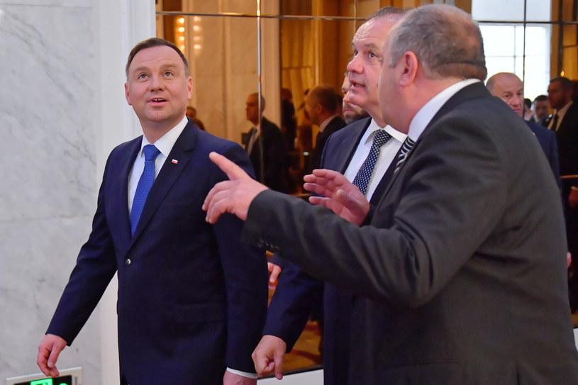 Prezydent Duda z wizytą w Gruzji /Bartłomiej  Zborowski /PAP