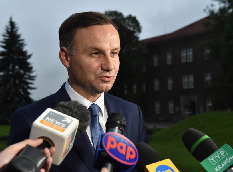 Prezydent elekt Andrzej Duda /Jacek Bednarczyk /PAP
