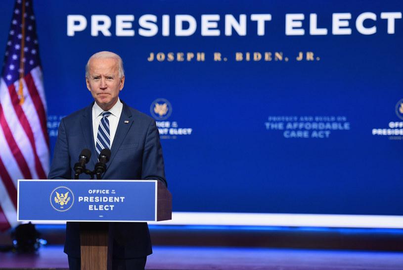 Prezydent elekt Joe Biden /ANGELA WEISS/AFP /AFP