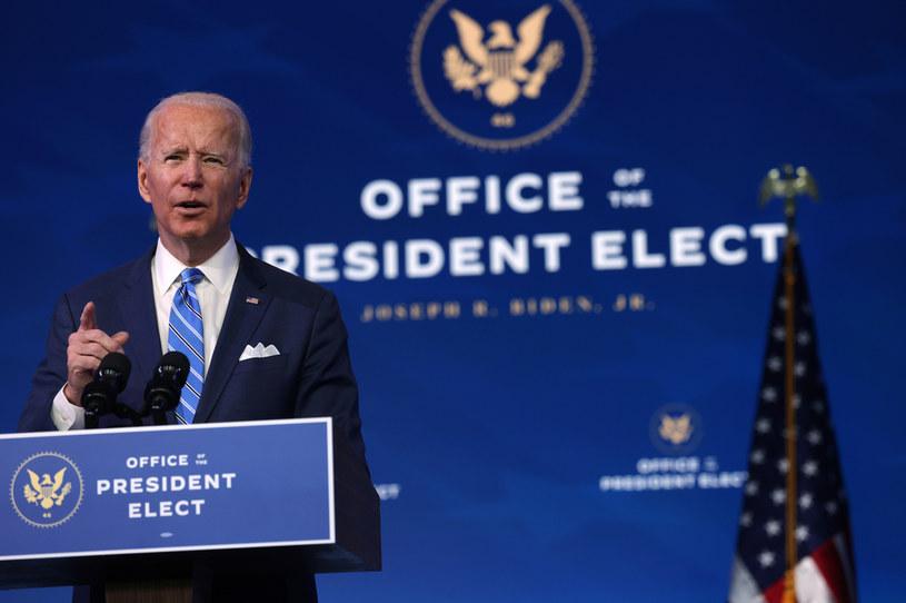 Prezydent elekt Joe Biden /AFP