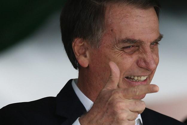 Prezydent elekt znany jest z przychylnych wypowiedzi o dyktaturze wojskowej, która rządziła Brazylią w latach 1964-1985. /PAP/EPA