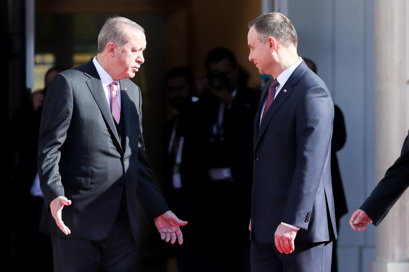 Prezydent Erdogan był w Polsce przed dwoma laty /Andrzej Iwańczuk/Reporter /East News