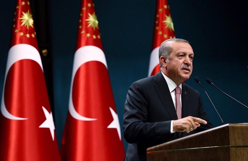 Prezydent Erdogan /PAP/EPA
