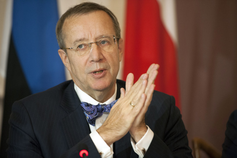 Prezydent Estonii Toomas Hendrik Ilves /AFP