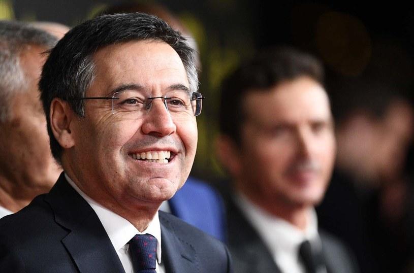 Prezydent FC Barcelona Josep Maria Bartomeu /AFP