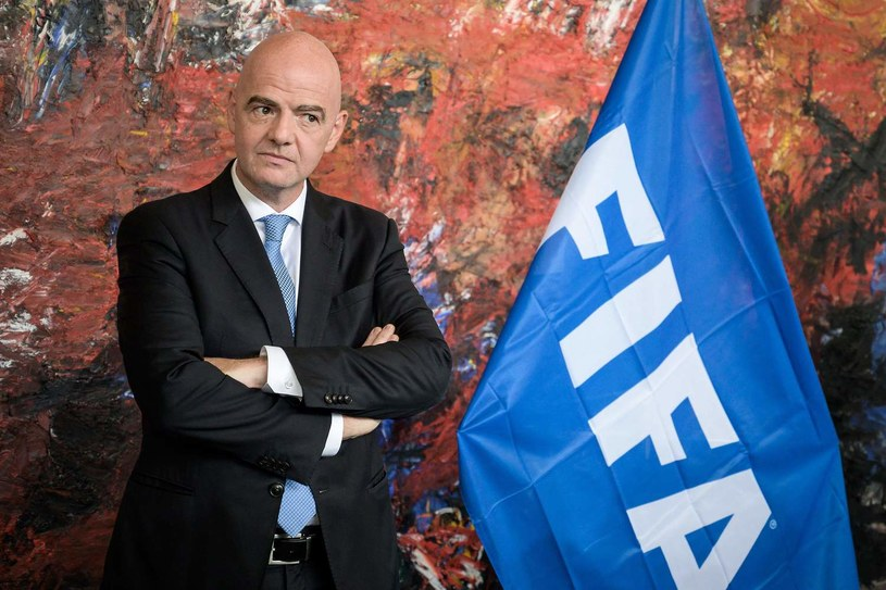 Prezydent FIFA Gianni Infantino /AFP