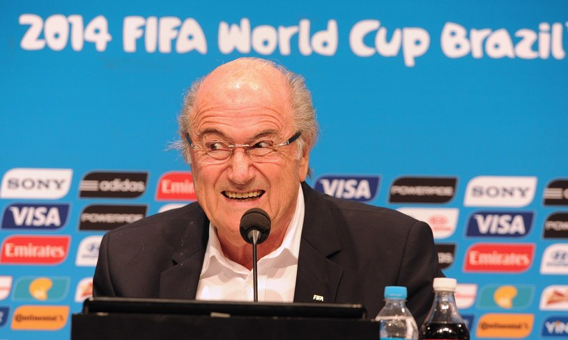 Prezydent FIFA Josep Blatter /AFP