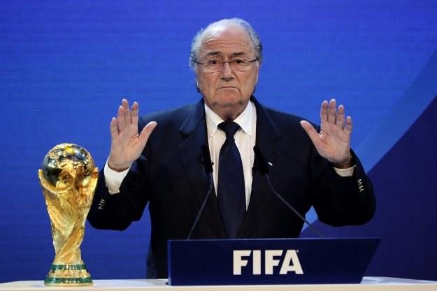 Prezydent FIFA Joseph Blatter /AFP
