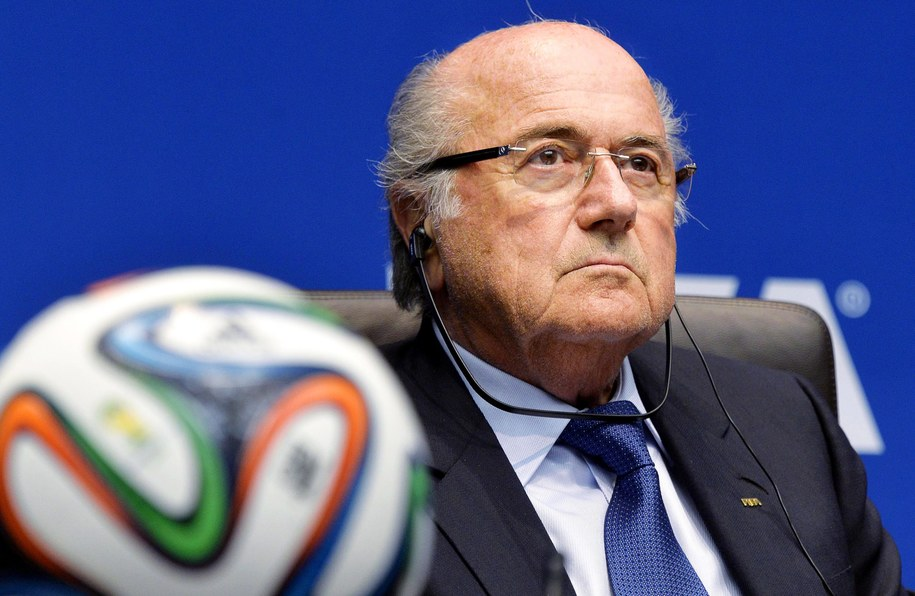 Prezydent FIFA Joseph Blatter /WALTER BIERI  /PAP/EPA