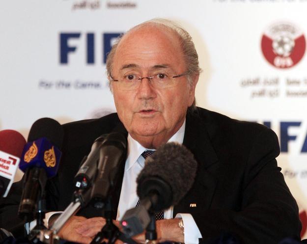 Prezydent FIFA Sepp Blatter /AFP