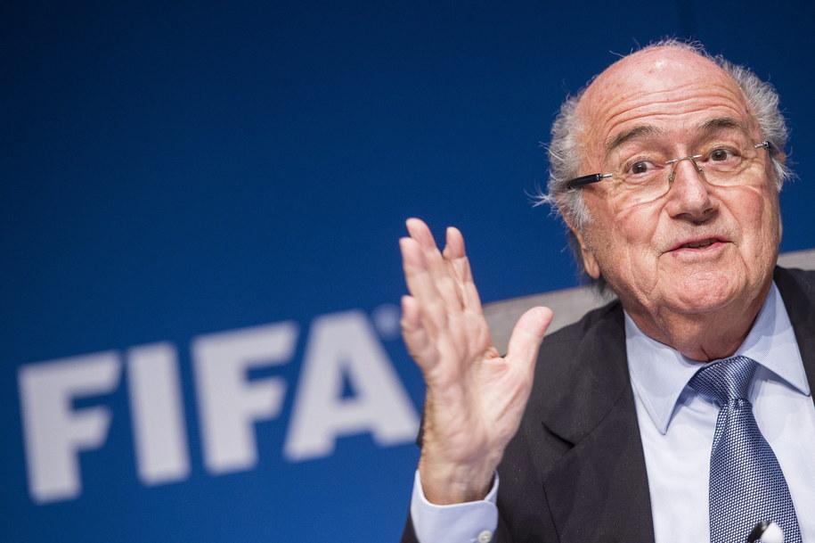 Prezydent FIFA Sepp Blatter /ENNIO LEANZA /PAP/EPA