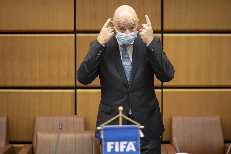 Prezydent FIFA /CHRISTIAN BRUNA /PAP/EPA