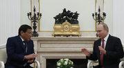 Prezydent Filipin poprosił Putina o broń