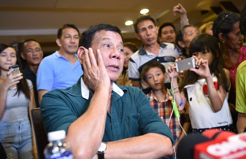 Prezydent Filipin Rodrigo Duterte /AFP