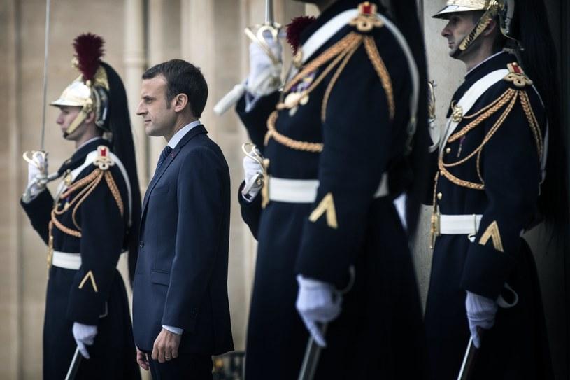 Prezydent Francji Emmanuel Macron przyjął w sobotę w Pałacu Elizejskim byłego prezydenta USA Baracka Obamę /ETIENNE LAURENT /PAP/EPA