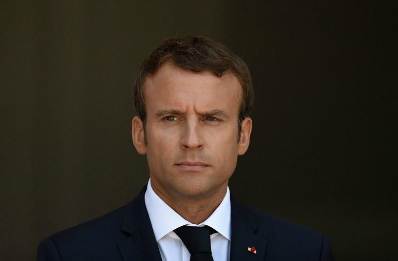 Prezydent Francji Emmanuel Macron /VASSIL DONEV /PAP/EPA