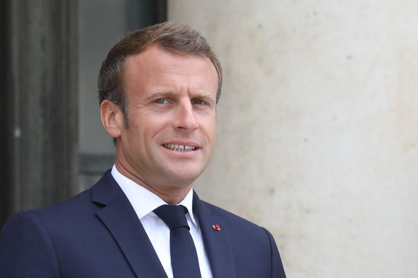 Prezydent Francji Emmanuel Macron /LUDOVIC MARIN /AFP