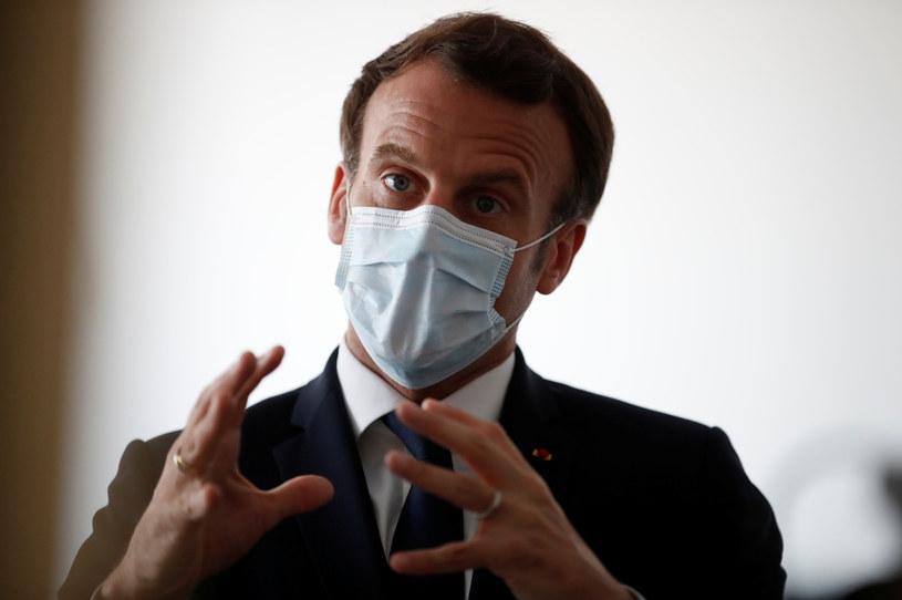 Prezydent Francji Emmanuel Macron /GONZALO FUENTES  /AFP