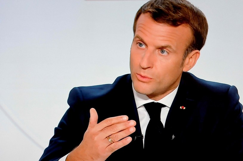 Prezydent Francji Emmanuel Macron /AFP