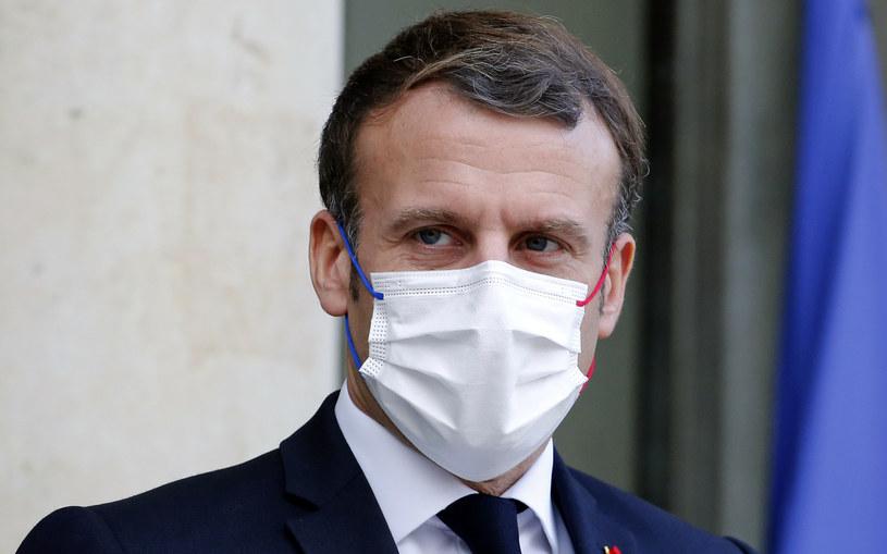 Prezydent Francji Emmanuel Macron /Chesnot /Getty Images