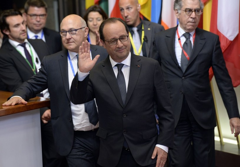 Prezydent Francji Francois Hollande /THIERRY CHARLIER /East News