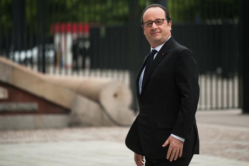 Prezydent Francji Francois Hollande /Filip Blazejowski /Agencja FORUM