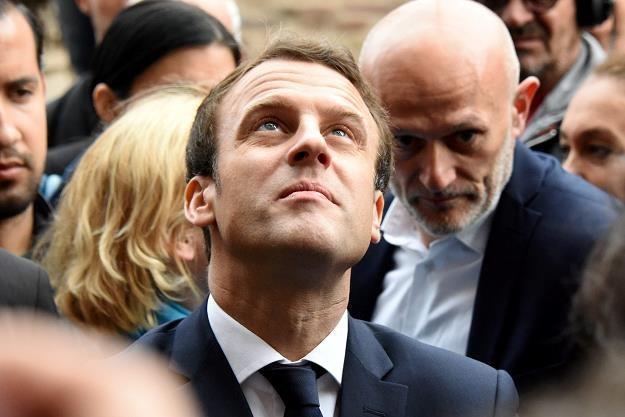 Prezydent Francji liczy na wyborców /AFP
