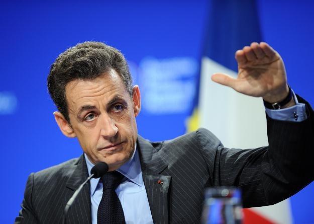 Prezydent Francji Nicolas Sarkozy /AFP