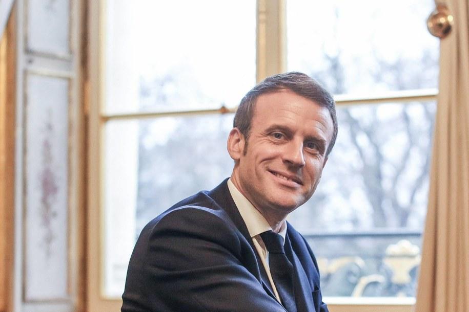 Prezydent Francji od poniedziałku z oficjalną wizytą w Polsce /PAP/Abaca