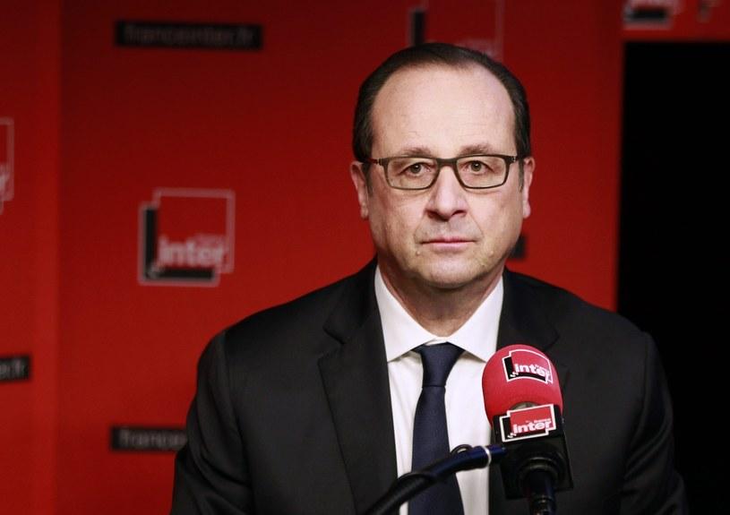 Prezydent Francji /PAP/EPA