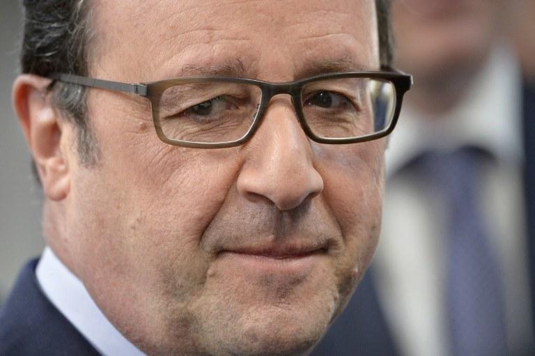 Prezydent Francji /AFP